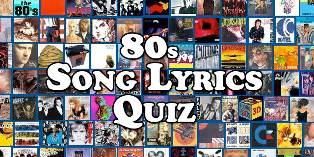 Can You Guess '80s Songs From Their Opening Lyrics? Quiz | Zoo